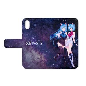 CRY-SIS[クライシス] 手帳型iPhoneケース