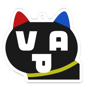 VAPJ アクリルキーホルダー VAP猫ver.