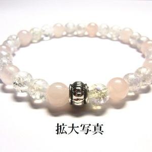 天然石 パワーストーン ブレスレット◆Pixie シャインピンク◆lalalady-54