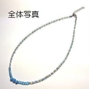 天然石 パワーストーン ネックレス ブレスレット◆仕事運◆オーシャンブリーズ◆lalalady-44