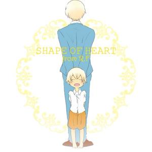 SHAPE OF HEART fromR.F