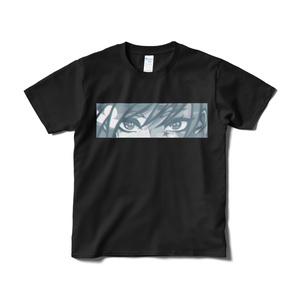 「色星を食らう」Tシャツ(ブラック・フロントプリント)