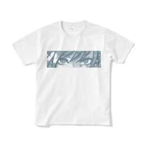 「色星を食らう」Tシャツ(ホワイト・フロントプリント)