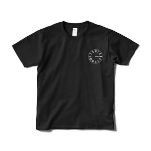 「乙女座」Tシャツ(黒)