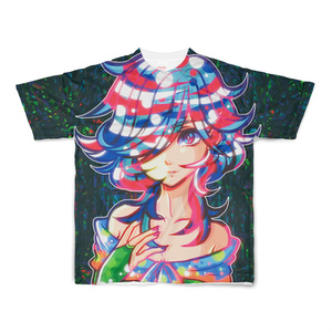「曖昧」フルグラフィック Tシャツ