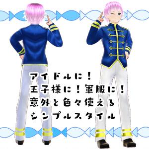 【#VRoid】アイドルのナポレオンコーデ