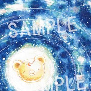 くまみちゃん月神 ポストカード