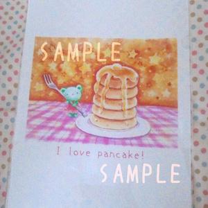 くまみちゃんとホットケーキ クリアファイル
