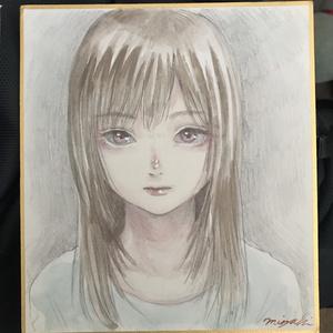 ミニ色紙No.1