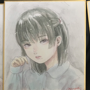 ミニ色紙No.2