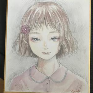 ミニ色紙No.3
