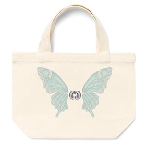 蝶の羽のトートバッグ