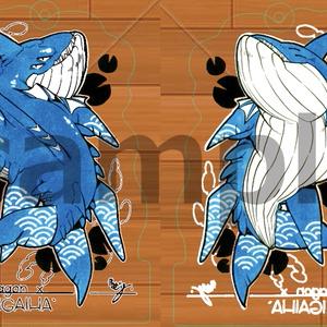 アクリルキーホルダー(ブルードラゴン1)