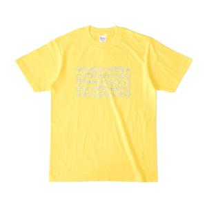 東雲めぐアイコンTシャツ--イエロー