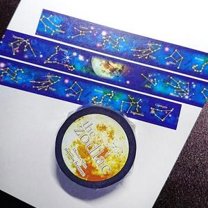the zodiacマスキングテープ