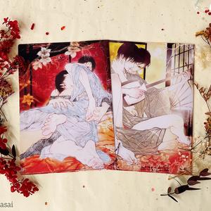 【笠井あゆみ展in上海COMICUP・コラボグッズ】クリアファイルセット(現品販売)