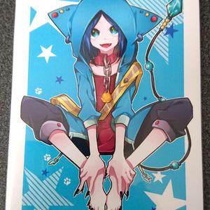 青猫ポストカード