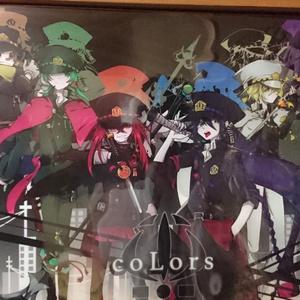 coLors アクリルポスター