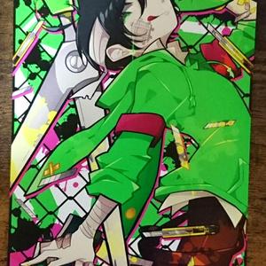 緑 ポストカード
