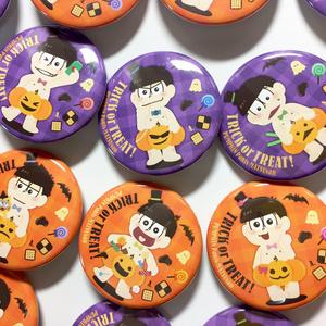 【弟松セット】おそ松さん ハロウィンデザイン缶バッジ