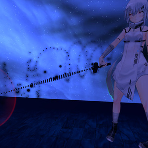 [VRChat] Particle Animation MusicSword - Ghost Ship