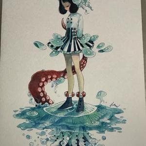 原画「Water Dance」
