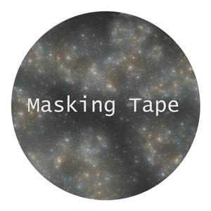 【高分子マスキングテープ】PET(星空)
