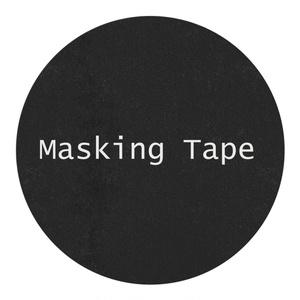 【高分子マスキングテープ】PET(黒)