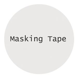 【高分子マスキングテープ】PET(白)