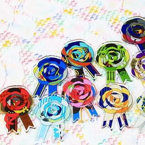 刀剣男士イメージ 花のアクリルブローチ