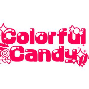 ロゴ トートバッグ(colorfulcandy)
