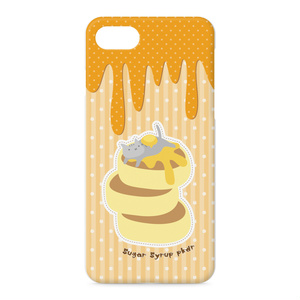 ホットケーキのiPhoneケース<ストレートタイプ>