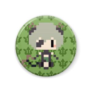 【非公式】堰代ミコ  ドット絵 缶バッチ