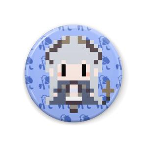 【非公式】蒼月エリ ドット絵 缶バッチ