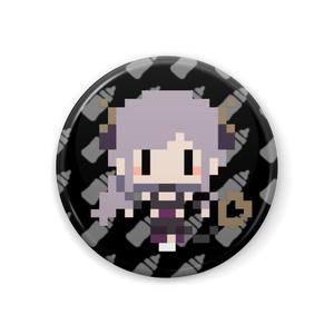 【非公式】西園寺メアリ ドット絵 缶バッチ