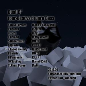 "Dual""B"" ~four-Beat vs drum'n'Bass~"