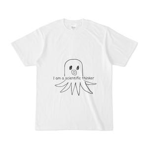 I am a scientific thinker Tシャツ