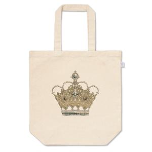 王冠トートバッグ