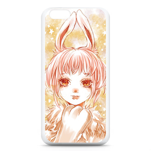 お星様とうさぎっ子のiPhoneケース