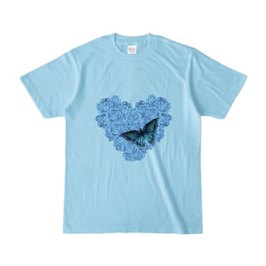 blue momentTシャツ