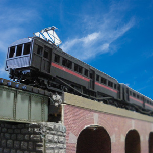 大正電車2両セットB(デハ23400+サハ33700)