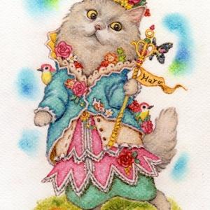 【額縁無し】ペットのパステル肖像画(A5サイズ:210×148mm)
