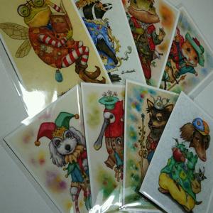 裏地球キャラクターポストカード【5枚選べるセット】