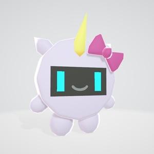 ユニモちゃん3Dモデル