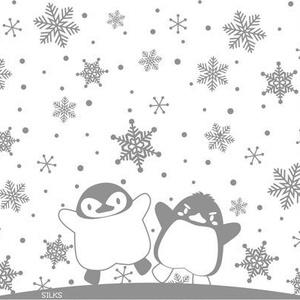 【受注生産】雪ペンギンのサーモボトル300ml