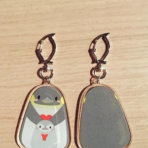ペンギンアクリルキーホルダー