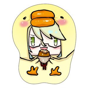桂小五郎ミニおっぱいマウスパッドストラップ