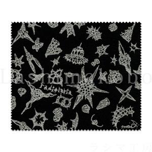「radiolaria black design」 < レンズクリーナー >