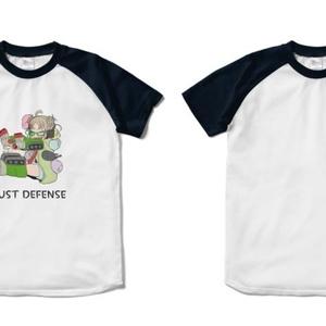ジャストディフェンスラグランTシャツ