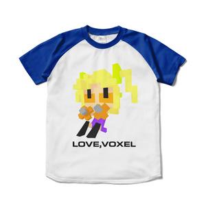 LOVE VOXELシャツ